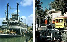 Disneyland Mark Twain & Mine Train