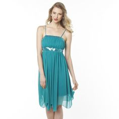 JOLIE Chiffon Party Dress With Beaded Bodice