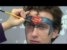 Super Assistant - Superman Face Painting!