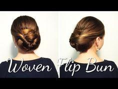 Haartrau Woven Flip Bun mit neuen Tipps und besserer Qualität - YouTube