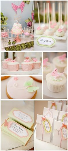 Pretty and sweet fairy party.