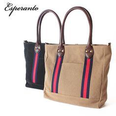 esperanto/Canvas midium tote bag