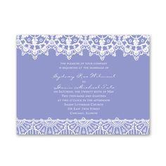 Exotic Lace - Petite Invitation Choose your color  grape avail  300 $197.91 6 1/4 x 4 5/8