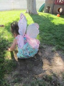 How to make angel or butterfly wings.