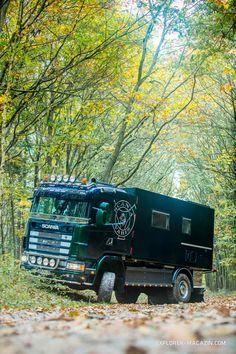 15 Best Trucks In The World [Cool Trucks Pictures] Used Trucks, Cool Trucks, Big Trucks, Semi Trailer Truck, Rv Truck, Motorhome, Offroad, Monster Trucks, Overland Trailer