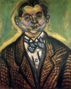 Joan Miró · Self Portrait · 1917 · Private Collection · New York