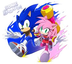 Sonic And Amy (Sonamy) ¿? ''3