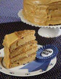 Kentucky's Phyllis Martin's brown-sugar caramel cake with walnut filling