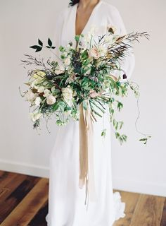 Wedding Bouquet by Amy Osaba at SEE sessions one with Jessica Sloane and Jessica Lorren in Nashville 18