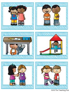 Sort it Out: Good and Poor Choices by The Teaching Fox School Rules Activities, Preschool Rules, Social Skills Activities, Teaching Social Skills, Teaching Aids, Free Preschool, Social Emotional Learning, Preschool Worksheets, Classroom Activities