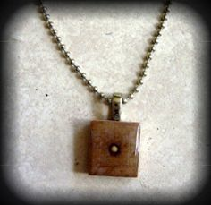 Mustard Seed Scrabble Tile Pendant in Uniquely You Decor