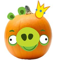 Angry Birds King Pig Pumpkin Push in Kit (Standard)
