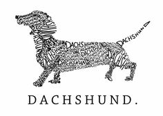 """Dachshund"" art"