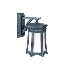 Milano Stone One-Light 18.25-Inch Outdoor Wall Mount