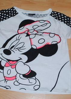 Kup mój przedmiot na #vintedpl http://www.vinted.pl/damska-odziez/koszulki-z-krotkim-rekawem-t-shirty/13629210-bluzeczka-top-myszka-miki-mini