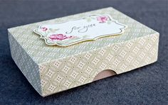 Stampin' Up ideas and supplies from Vicky at Crafting Clare's Paper Moments: gift bags and boxes