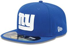 b3d40e9f833 New York Giants New Era On-Field Player Sideline Fitted Hat – Royal Blue