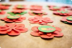 Do It Yourself - DIY - Flores de Papel - Flores em Relevo -  Dica de Decoração de Festa - Tuty - Arte & Mimos www.tuty.com.br