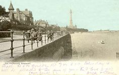 New Brighton Tower. Liverpool Town, New Brighton, Where The Heart Is, Vintage Postcards, Childhood Memories, Paris Skyline, Past, Tower, England