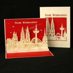 #popupkarte #colognecards #3DKarte #weihnachtskarte #kölnerdom