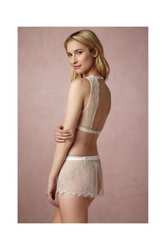8106ded2d Shop our vintage-inspired bridal lingerie collection. BHLDN offers a  variety of wedding lingerie perfect for your wedding night and beyond!