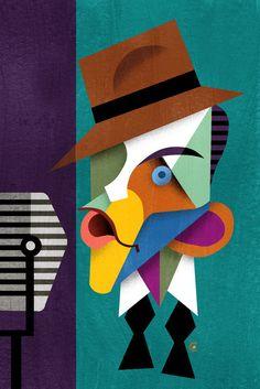 Frank Sinatra David Cowles canvas art