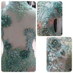 Detail kebaya