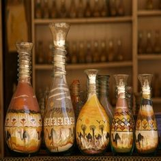 Sand Bottle Art ...iused to have these