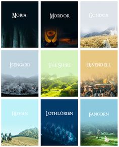 I may be a part of many fandoms but Middle Earth is my home