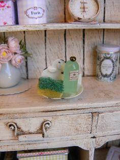 Inhaber Scheuern Puppenhaus Miniatur-Minieden von MiniEdenTienda