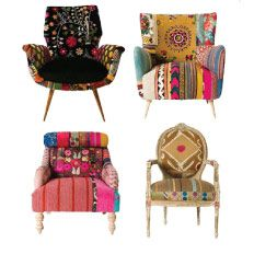 I prefer mis-matched chairs. These are perfect!