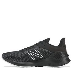 Set a new PR in the Men's Ventr Running Shoe from New Balance. Synthetic and mesh upper in a running shoe sneaker style Lace up entry for secure fit Padded collar and tongue Logo branding Comfort footbed with fabric lining ACTEVA midsole for extra support Rubber traction outsole , Sneakers Fashion, Shoes Sneakers, New Balance Men, Brand Sale, Black Running Shoes, Womens Slippers, Comfortable Shoes, Logo Branding, Character Shoes