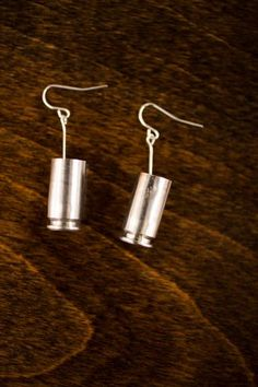 Silver Bullet Earrings | Bang-Up Betty | Bourbon & Boots