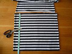 Dámské úpletové šaty s pružným pasem a kapsami | Beach Mat, Outdoor Blanket, Bags Sewing, Sewing Patterns