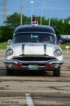 1956 Pontiac Ambulance