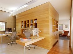 Home Design and Interior Design Gallery of Amazing Modern Airy Home Office