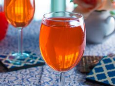 """Tickled Punch - Trisha Yearwood recipe inspired by now-retired Boone's Farm """"Tickle Pink"""" wine"""