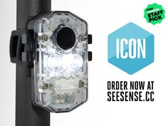 See.Sense is raising funds for See Sense ICON - the intelligent and connected cycle light on Kickstarter! See Sense ICON is an industry-leading cycle light that connects you to a world of innovative features through your smartphone. Bicycle Lights, Bike Light, Light Year, Innovation, Cycling, Smartphone, Technology, Veils, Projects