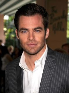Oh yes...Chris Pine as Christian Grey  Perfect, right?