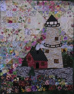 Lighthouse quilt!  Gorgeous.