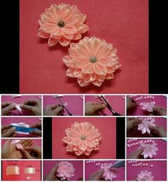 How to Make an Easy Ribbon Flower