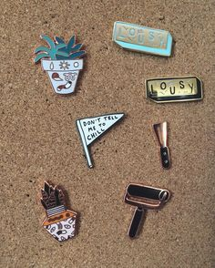 #Repost @lifewifepress New pins are up in the shop! Browse our whole collection…