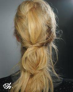 Fall/Winter Fashion Week. Hair by Bb. Stylist Laurent Philippon.