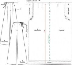 Dress Sewing Patterns, Sewing Patterns Free, Clothing Patterns, Sewing Tutorials, Sewing Projects, Sewing Tips, Sewing Pants, Sewing Clothes, Diy Clothes