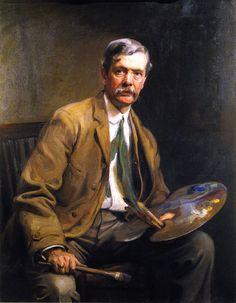 Alfred East, A.R.A., P.R.B.A. (Philip Alexius de László - )