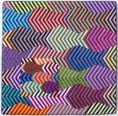 Fish, 59 x 59 cm, by Irene MacWilliam (Belfast, Ireland, 1994)