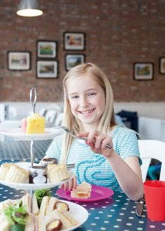 Started by a mum, The English Tearoom has delicious British fare and one of the best kids' playrooms in the city