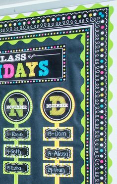 Chalkboard Brights Straight Border Trim - Use colorful border trim to liven up your classroom! Create fresh looks for bulletin boards, windows, walls, and class projects. Mix and match with coordinating products (stickers, notepads, awards, etc.) for a classroom theme.
