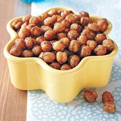 Superbowl Snacks: Spicy, Crunchy Chickpeas