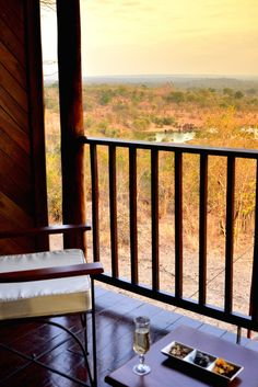 Room with a view @ Victoria Falls Safari Lodge